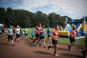 cMuko-Spendenlauf Hannover 2015 - auf der Strecke