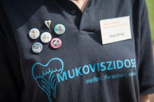 Muko-Spendenlauf Hannover 2014 - die Buttons der lezten Jahre
