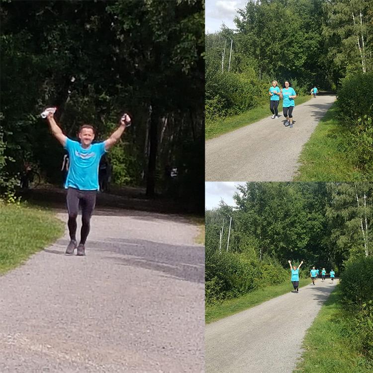 Muko-Spendenlauf 2020 Familie Gerasimov