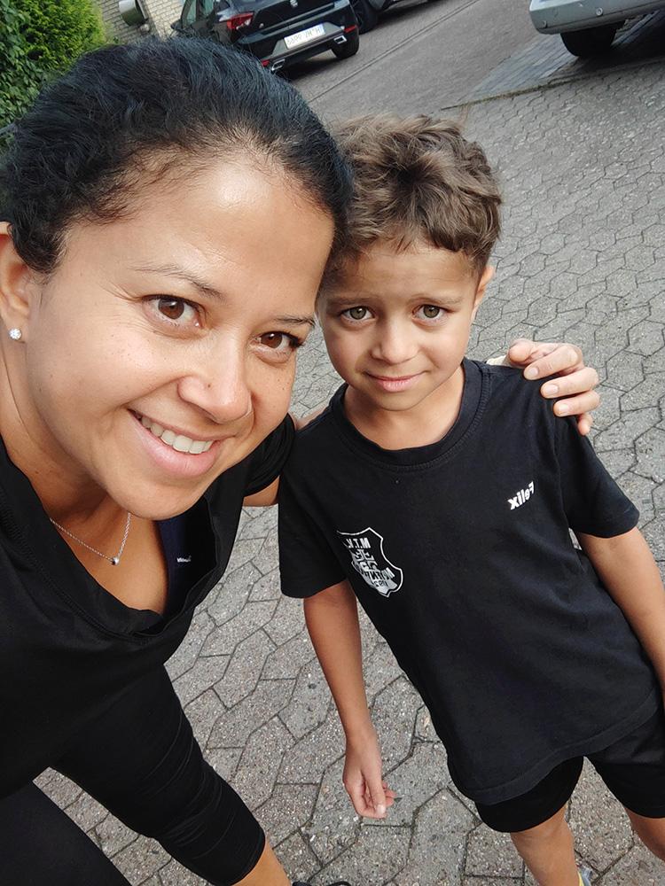 Muko-Spendenlauf 2020 Familie Rohde
