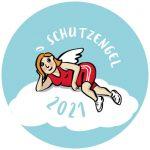 Unser Button für den Muko-Spendenlauf Hannover 2021